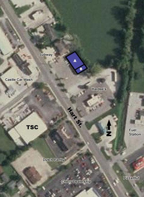 Hart Street Center Leasing Plan